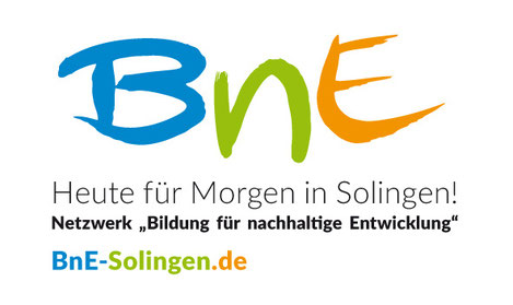 """Logo Netzwerk """"Bildung für nachhaltige Entwicklung"""" Solingen"""