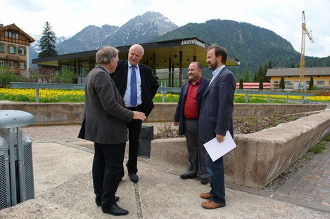 Sepp Wurzer, Horst Hafele, Josef Kühebacher, Josef Watschinger