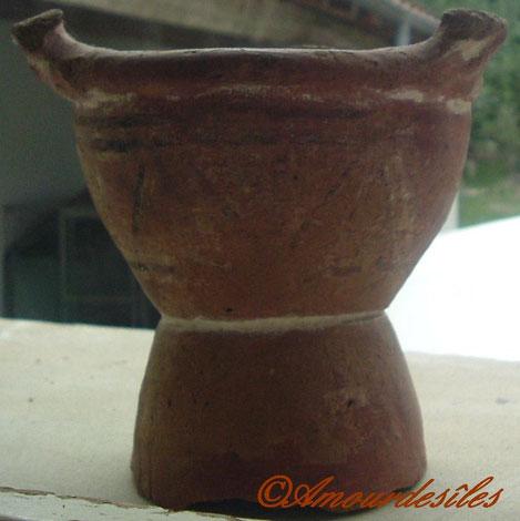 Poterie africaine très très ancienne, venant du TCHAD..