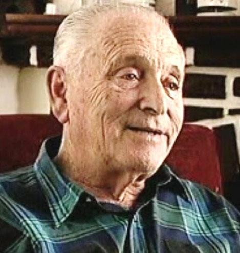 Heinz Rosenhain während des Shoah-Foundation-Interviews, Buenos Aires, Mai 1997