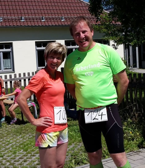 Monika Wallner und Thomas Hackl