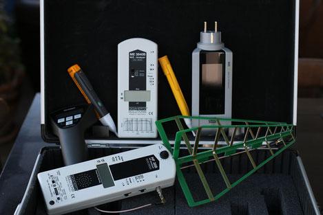 matériel de detection des perturbations electromagnétiques