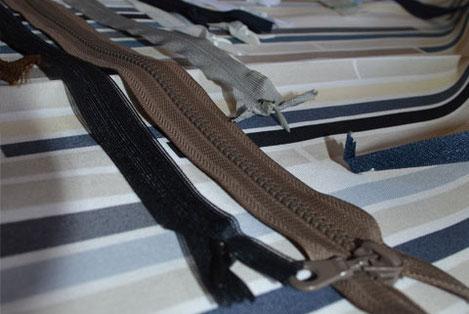 Zips et fermetures à glissière