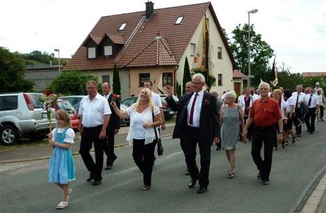 Festzug - 125-jähriges Jubiläum - 19. Juli 2015