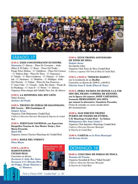 Feria y Fiestas de Ciudad Real 2016