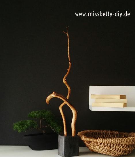 Aus Holz Keramik Eine Skulptur Selber Machen Diy Handmade Miss