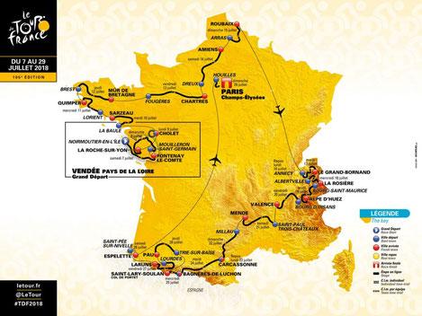 Le tour de France 2018 étape Lorient_Quimper