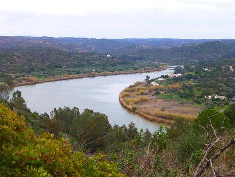 der Grenzfluß Rio Guadiana