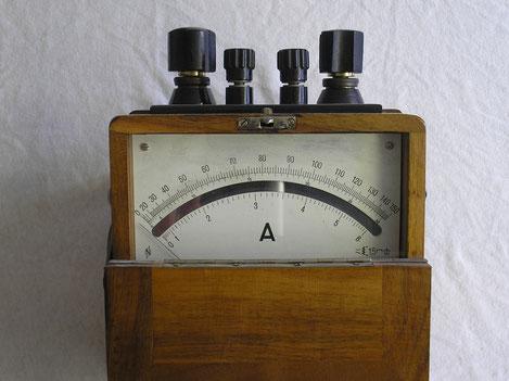 Neuberger  Tragbares Amperemeter bis 150 Ampere Gleichstrom