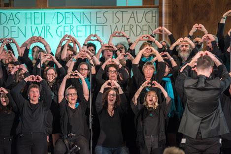 """GiW 18-2 Konzert """"Loved""""  25. März 2018 Buchs"""