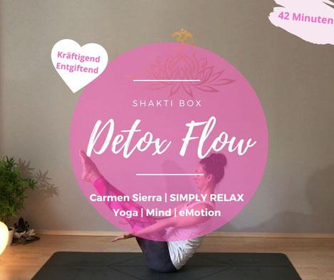 Detox Flow | Online Abo Yoga@Home