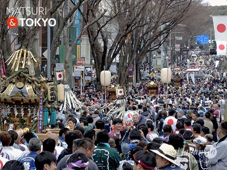2018年, 建国祭, 奉祝神輿パレード, 明治神宮, 原宿, 表参道