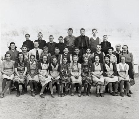 Sekundarschule Wittnau 1948 (Lehrer: Gottfried Müller-Weiss)