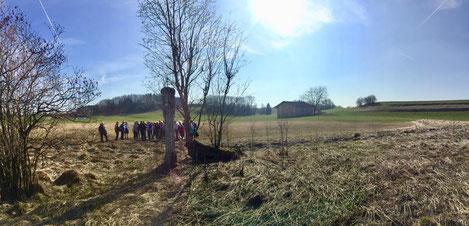 Marterl am Wattersdorfer Moor