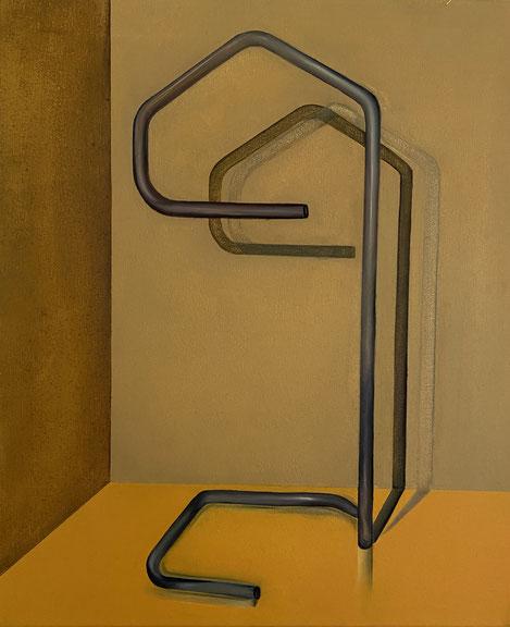 o.T, 2021, Öl auf Leinwand, 60x 50 cm