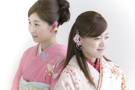 パーフェクト3D花 成人式・卒業式にイアーアートジュエリー