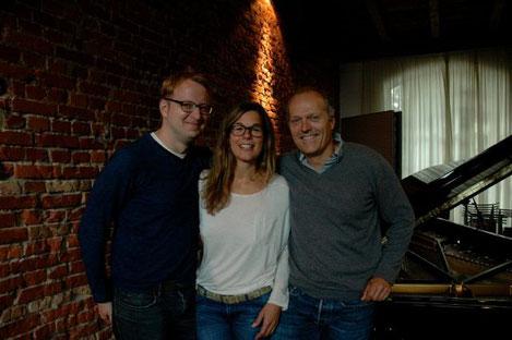 Stefan Eggert, Kirsten Heitmann und Joja Wendt (von links nach rechts)