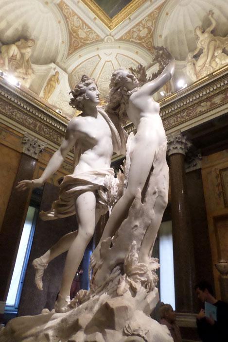 Apollo e Dafne par Le Bernin