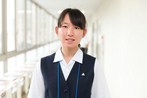 守岡里穂さん(3年)
