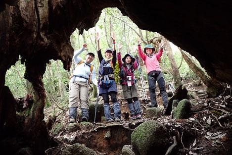 7月18日、19日縄文杉1泊ツアーは、女性限定!