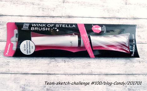 1 Wink of Stella Glitzer Pinselstift (Klar)