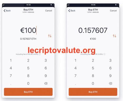 come comprare bitcoin e altcoin con Hodly app