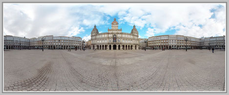 La Coruna 1, Spanien; Hans Jutzi; Panormaphotografie; PTGui; Bildershop