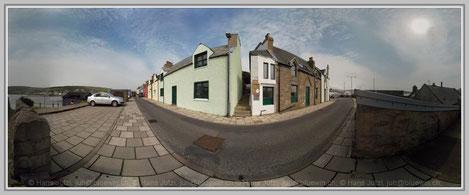 Scalloway, Shetland; Hans Jutzi; Panormaphotografie; PTGui; Bildershop