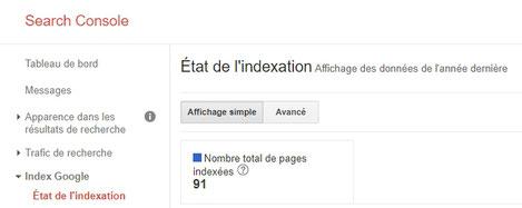 Etat de l'indexation de votre site avec e-cime.fr creation de site web pour les TPE