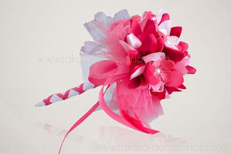 Ramo artesanal, flores de tela, ramo civil, ramo tela, bouquet tela, flores artificiales.