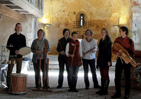 das Ensemble Montserrat in der Sankt Jacobi Kirche (Autobahnkirche) Wilsdruff