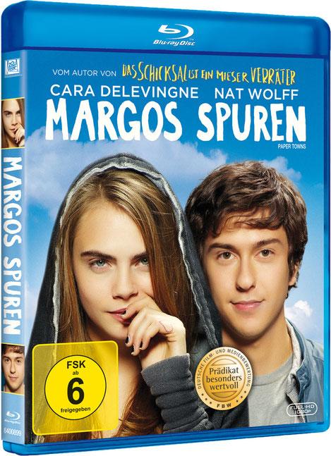 Margos Spuren Blu-ray - Cara Delevingne - Nat Wolff - 20th Century Fox - kulturmaterial