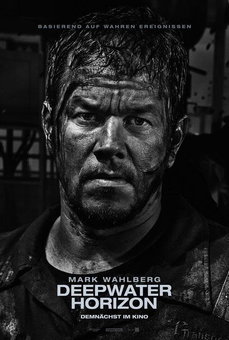 Deepwater Horizon - Mark Wahlberg - Studiocanal - kulturmaterial - Character Poster