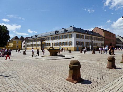 Bischöfliches Palais am Domplatz Speyer Sehenswürdigkeit