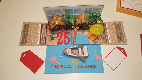 #tropical #Islands #Krausnick #stempelliese.com #Explosionsbox #Explodingbox #swimmingpool #fun #spassbad #dreissigster #geburtstag