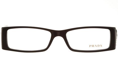 occhiali vista prada donna 14IV 1AB1O1 nero plastica squadrato