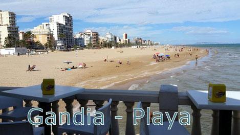 Gandia - Playa, Foto: H-G Müller, Oktober 2015