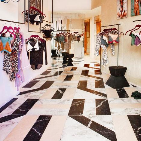 desin marble floor