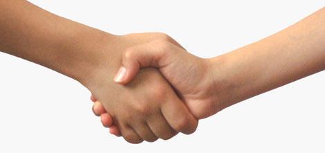 握手イメージ画像