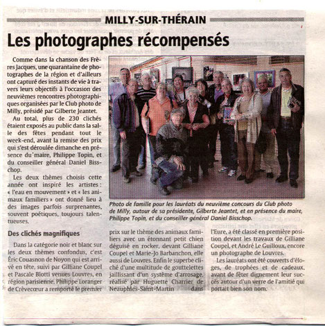 le courrier picard du 29 avril 2010