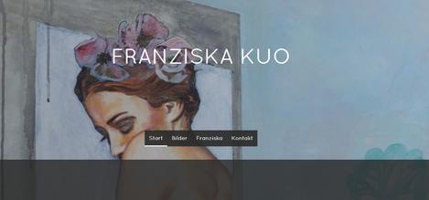 Webseite der Künstlerin Franziska Kuo