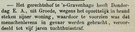 Goessche Courant  4 maart 1882