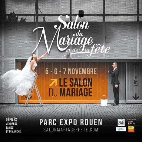 Salon du Mariage et de la Fête de Rouen 5, 6 et 7 Novembre 2021