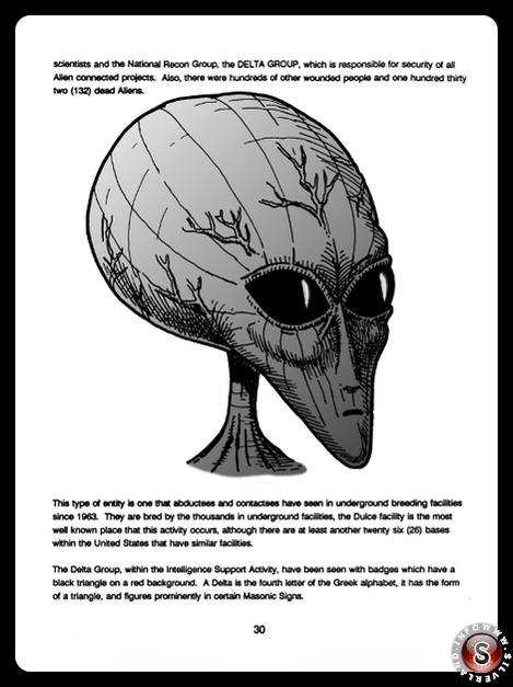 Alien - Blue Planet Project - Rielaborazione grafica Silverland