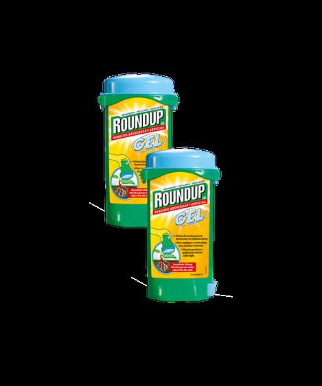 Roundup GEL Wurzeltiefe Wirkung/ Détruit jusqu'aux racines