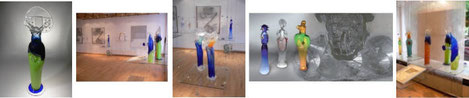 Jiri Suhajek Studioglas in der CCAA GLASGALERIE KÖLN