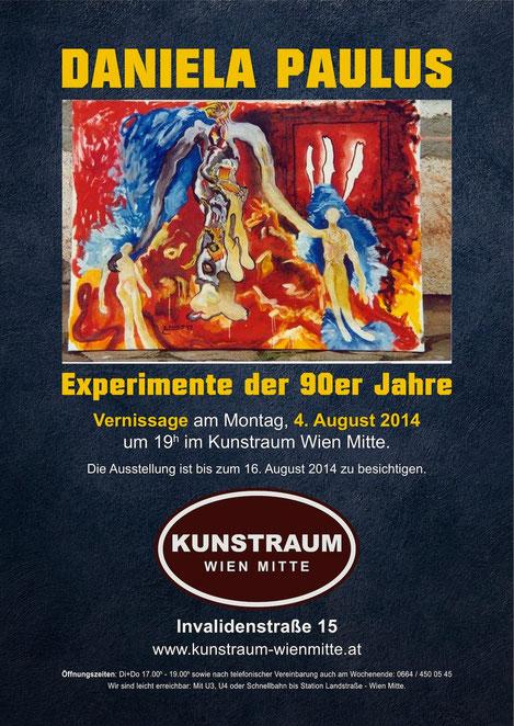 Kunstraum Wien Mitte Daniela Paulus Landstrasse Günther Wachtl Salzburger Festwochen Mirabellgarten Zwergerlpavillon Experimente 90er Jahre Art Brut