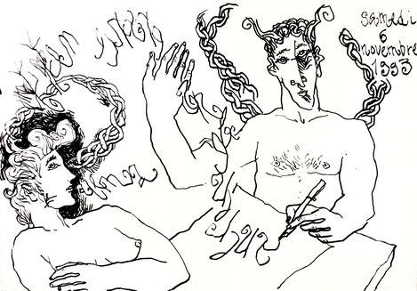 jean-marc rohart, peinture, dessin
