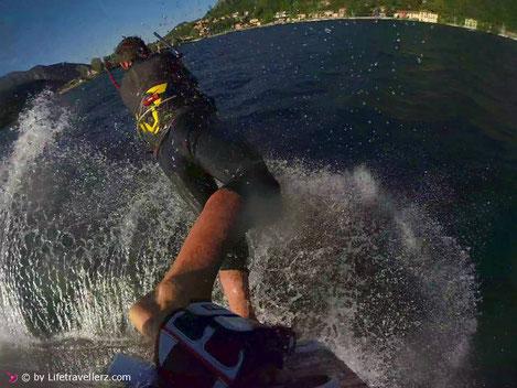 Surfgasm - der beste Surfmoment deines Lebens - Kitesurfen - Surfen - Windsurfen - Stand up Paddling - Kitesurfing - Lago di Como - lifetravellerz