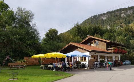 Campingstube Pfronten im Allgäu